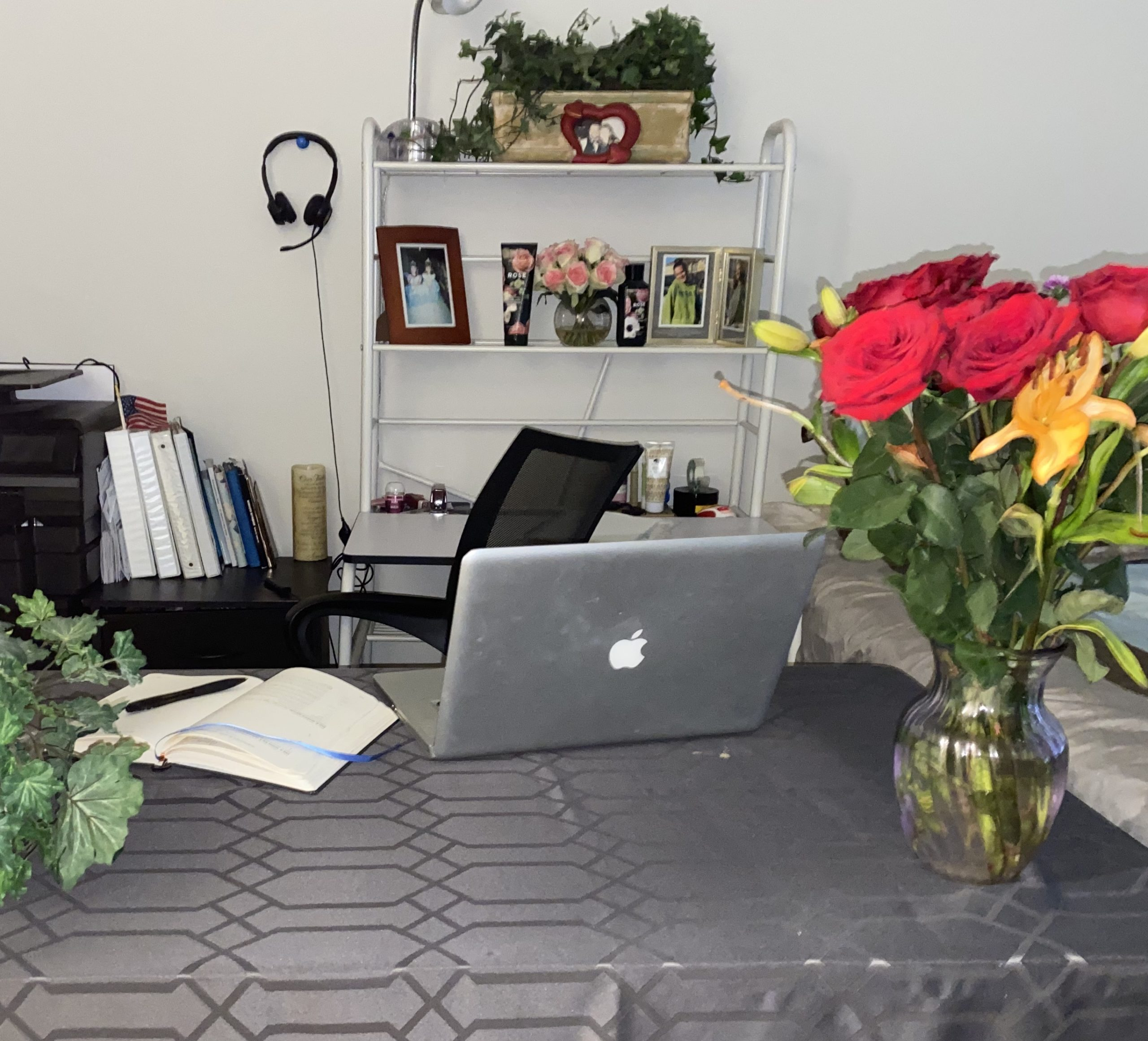Terri work space